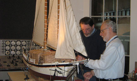 Sailing Ship, Erie Maritime Museum
