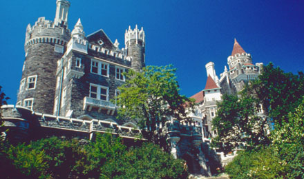 Casa Loma House and Grounds in Toronto, ON