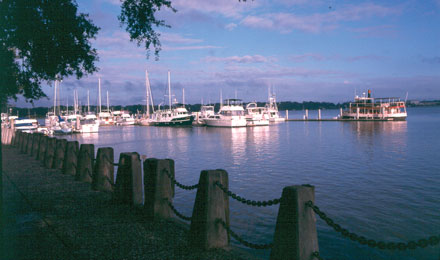 A Waterfront View of Beaufort South Carolina
