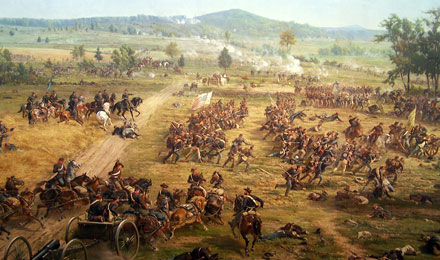Battle of Gettysburg Cyclorama Painting