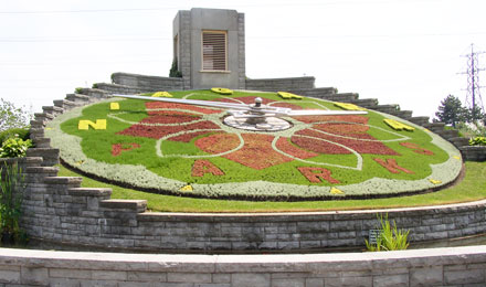 Floral Clock in Niagara Parks