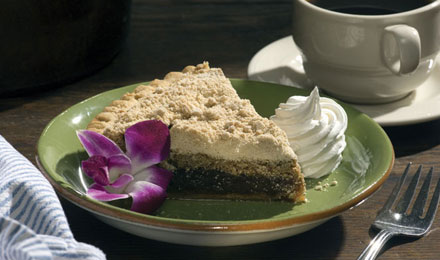 Picture of a Piece of Shoofly Pie