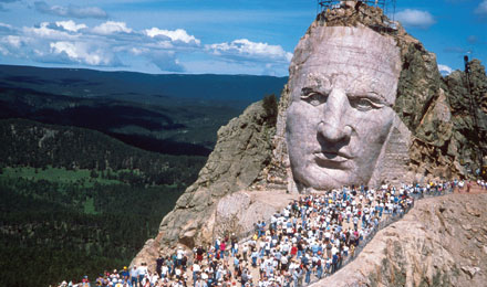 Crazy Horse Memorial, Black Hills of South Dakota