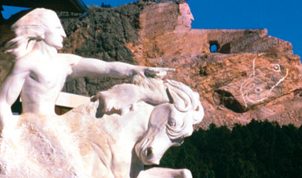 The Finished Design of the Crazy Horse Monument