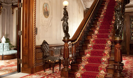 Picture of the San Domingo Mahogany Staircase